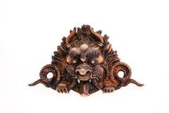 Dragón del Woodcarving Imagen de archivo libre de regalías