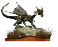 Dragón derecho Ilustración del Vector