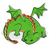 Dragón deslizante agradable libre illustration