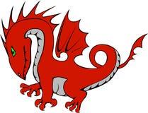 Dragón ejemplo para un cuento de hadas libre illustration