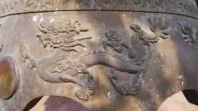 Dragón en la campana fotografía de archivo libre de regalías