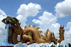 Dragón en Supanburi Fotos de archivo libres de regalías