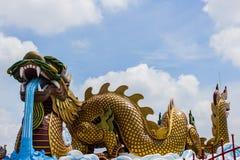 Dragón en suphanburi Fotos de archivo