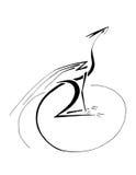 Dragón estilizado stock de ilustración