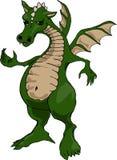 Dragón gordo del vientre stock de ilustración