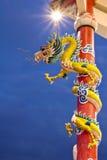 Dragón hermoso Imagen de archivo