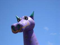 Dragón inflable fotografía de archivo libre de regalías