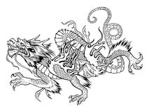Dragón japonés Foto de archivo