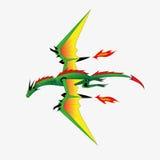 Dragón la robusteza. Foto de archivo