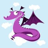 Dragón lindo Fotos de archivo