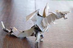 dragón modelo de la papiroflexia fotos de archivo libres de regalías