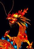Dragón rojo Fotografía de archivo libre de regalías