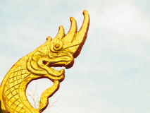 Dragón tallado Imagen de archivo