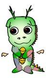 Dragón verde Imágenes de archivo libres de regalías