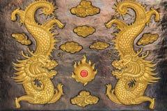 Dragón y Año Nuevo chino Fotografía de archivo