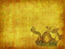 Dragón y fondo de la textura Fotos de archivo