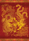 Dragón y Phoenix