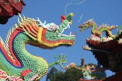 Dragões chineses Imagem de Stock