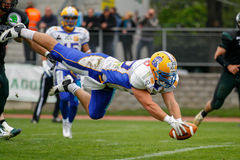 Dragões contra Giants Foto de Stock Royalty Free