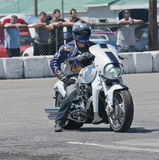 Drag bike Stock Image