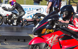 Drag bike close up Royalty Free Stock Photos