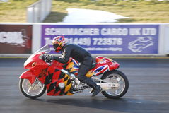 Drag Bike Santa Pod Royalty Free Stock Images