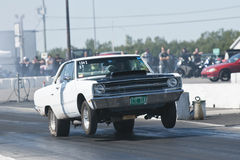 Drag car Royalty Free Stock Photography