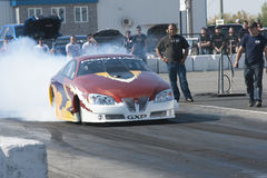 Drag car Stock Photography