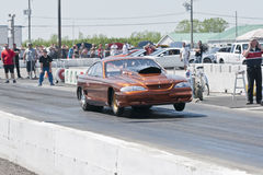 Drag car Stock Photo