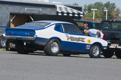 Drag car Royalty Free Stock Photo