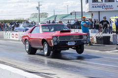 Drag car start Royalty Free Stock Photo