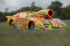 Drag car toy Stock Images