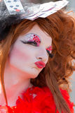 Drag Queen of Cards at Christopher Street Day Royalty Free Stock Images