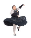 Drag queen dancing in a tutu Stock Photography