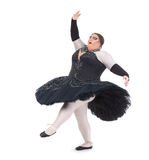 Drag queen dancing in a tutu Royalty Free Stock Photos