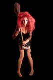 Drag-Queen. Man dressed as Woman. Stock Images