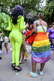 Drag Queens in Costume Gay Pride Parade Royalty Free Stock Photos