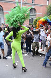 Drag Queens in Costume Gay Pride Parade Royalty Free Stock Photography