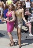 Drag Queens at Edmonton's Gay Pride Royalty Free Stock Photos