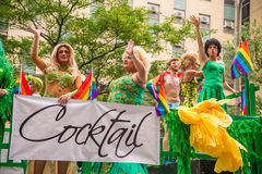 Drag-queens at Montreal Gay Pride Stock Photography