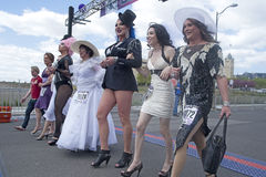 Drag queens in Spokane. Royalty Free Stock Image