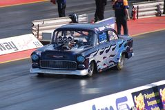 Drag Race Chevrolet Stock Photo