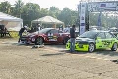 Drag race srilanka Royalty Free Stock Image