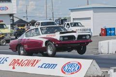 Drag Race Wheelie Stock Photos