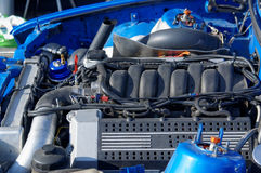 Drag racing engines and modification for drifting in Norway Stock Photos