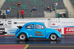 Drag strip car Stock Photo