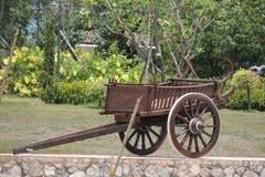 Drag wagon Royalty Free Stock Photo