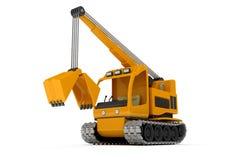 Draga, máquina escavadora Fotografia de Stock
