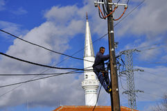 Dragash, Косово 23-ье ноября 2015  Стоковые Фотографии RF
