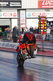 Dragbike wheelie Fotografia Royalty Free